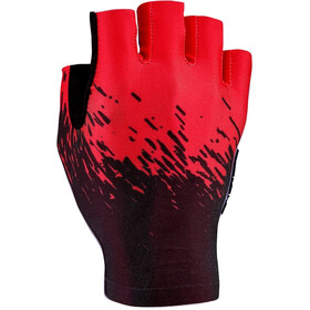 Supacaz SupaG Short Finger Gloves black/red